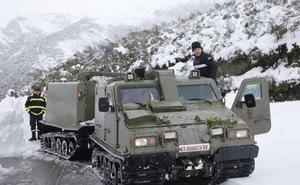 El operativo invernal de la UME con base en León contará con más de 500 soldados