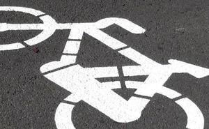 UPL considera que pintar una bici y un 30 no es solución para crear carriles bici y añade un peligro al tráfico