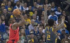 Ibaka juega su mejor baloncesto ante Warriors y Willy exhibe su clase ganadora