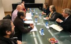 La CHD informa a los regantes sobre el estudio de viabilidad que se va a realizar sobre el proyecto de regulación lateral del río Órbigo