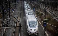 Fomento licita el mantenimiento de la línea de alta velocidad Madrid-León por 38,81 millones