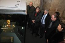 Acto de homenaje a los reyes de León en la Real Colegiata de San Isidoro