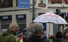 Manifestación por unas pensiones dignas en León