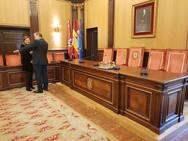 Visita institucional de Gijón a la Ciudad de León