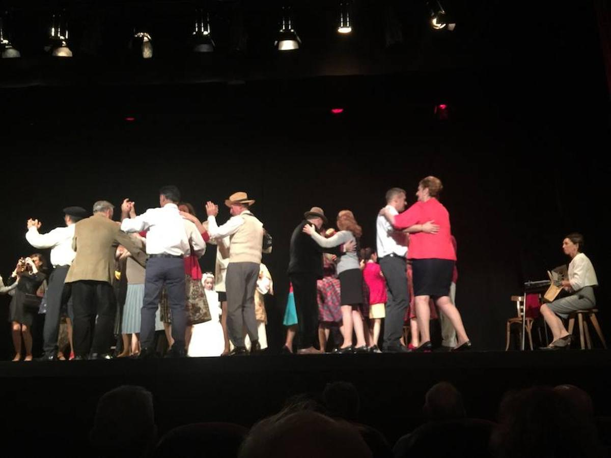 Puesta en escena de 'Fiesta en Babia' en el Teatro San Francisco