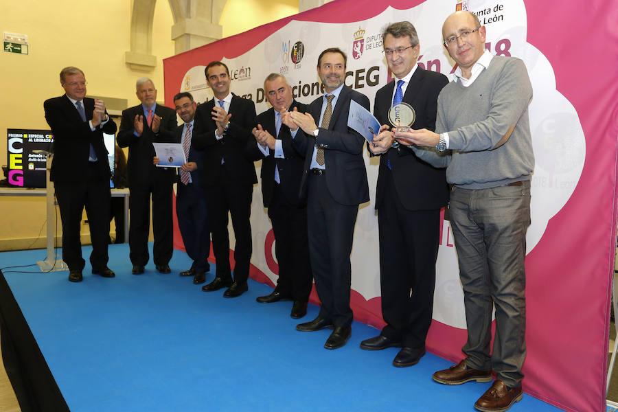 Entrega de premios de la CEG 2018