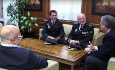 Las autoridades políticas llaman al nuevo comisario jefe de León a mantener «los buenos ratios»