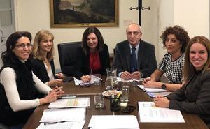 La jueza decana de Ponferrada traslada al Ministerio las urgentes necesidades del Bierzo