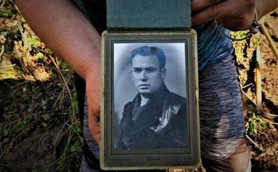 La ARMH entrega el jueves los restos de Francisco Alonso exhumados en Geras de Gordón