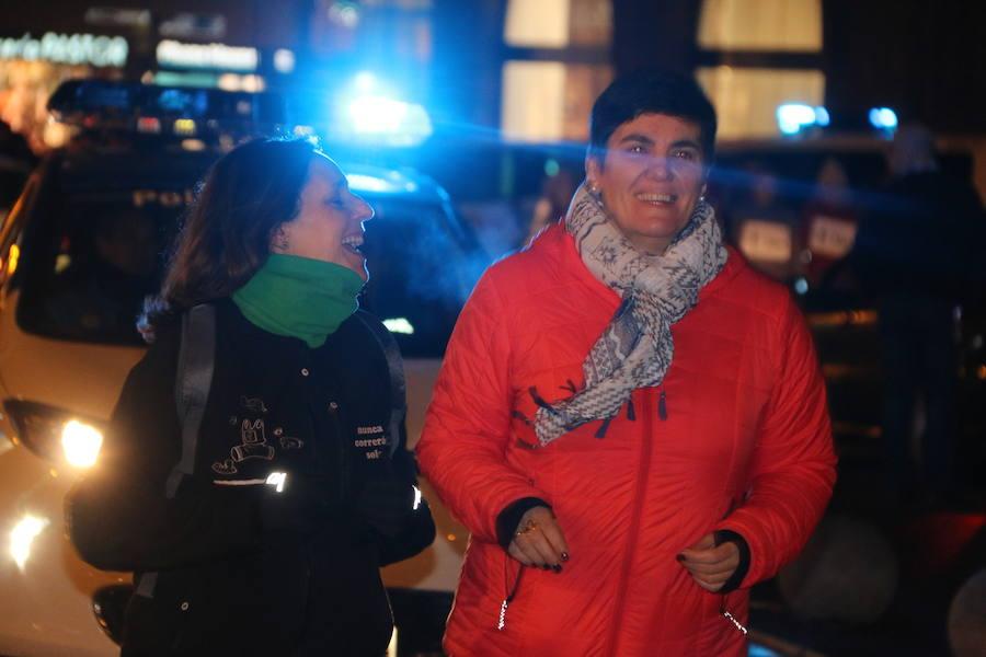 Carrera de protesta por el asesinato de Laura Luelmo