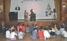 Un paje real, en el Colegio Santa Teresa de León