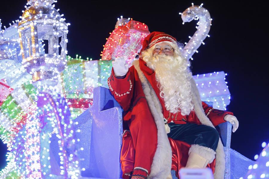 La Cabalgaza de Papá Noel en León