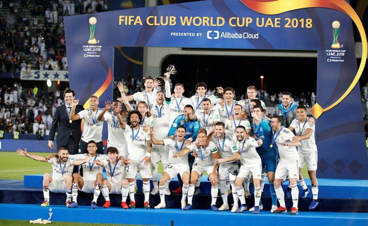 Las mejores imágenes de la final del Mundial de Clubes