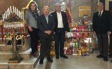 Los organismos estatales de León donan 400 kilos de alimentos