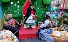 La Vieja del Monte invade de magia y mitología la Navidad de San Andrés del Rabanedo