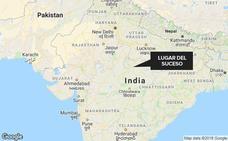 Muere el bebé que nació durante el suicidio de su madre en India