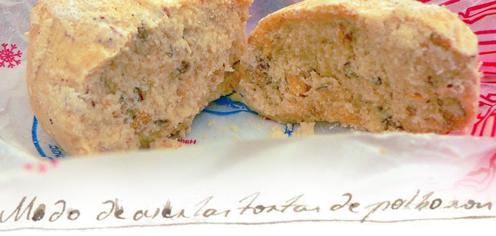 La primera receta de polvorones