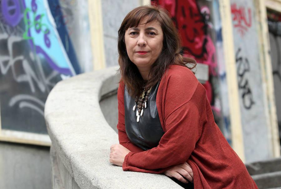 La escritora leonesa Ana Cristina Herreros