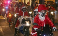 Papá Noel ahora llega en moto