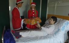 La ilusión de la Navidad en el Hospital de León