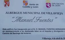 Proyecto Hombre gestionará el albergue de peregrinos 'Manuel Fuentes' de Villavieja