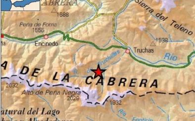 Un terremoto de magnitud 2,6 grados sacude de madrugada la zona de Truchas