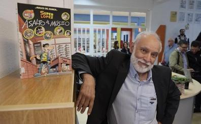 Jan, el leonés creador de 'Superlópez': «Mis historias se inspiran en la realidad»
