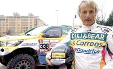 Jesús Calleja: «A un rally Dakar no se va por ser famoso»