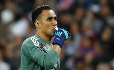 Keylor Navas renueva con el Madrid hasta 2021