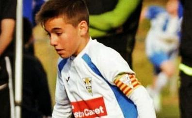 Luto en el fútbol base por la muerte a los 12 años de Álex Parera