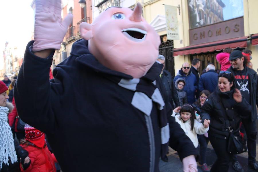Desfile de Minions por León