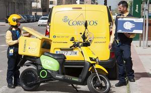 Correos reparte un 75% más de paquetes en Castilla y León durante 2018 y supera los 5,5 millones