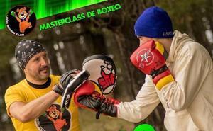 El maestro internacional Alfredo Arrojo imparte una masterclass de boxeo