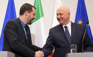 Salvini invita a Polonia a integrar una nueva alianza política en la Eurocámara