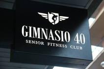 Un gimnasio a partir de los 40