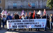 Las auxiliares de Endesa exigen a Endesa un compromiso «por escrito» que salve sus empleos