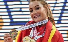 Lydia Valentín, nominada a mejor halterófila del mundo
