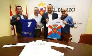 La selección berciana de fútbol estrena sus nuevas equipaciones con los colores de la comarca