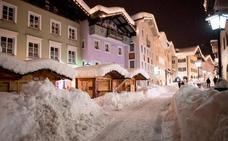 La nieve colapsa la región alpina