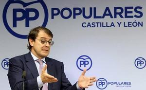 Mañueco ve «una humillación» para Castilla y León las cuentas que premian a los que «rompen España»