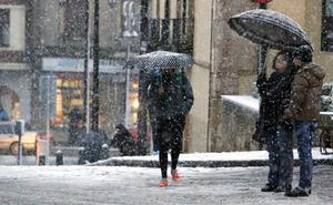 La cota de nieve se desploma la próxima semana a 600 metros y la nieve puede llegar a León capital
