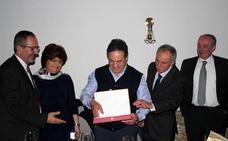 Laurentino Prieto ha sido galardonado como empresario del año en Villarejo de Órbigo