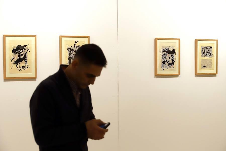 Exposición 'Memorias del Fuego' en las Cortes