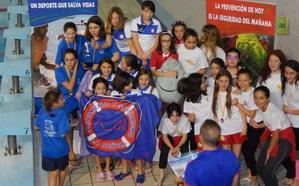 Las socorristas bañezanas campeonas de Castilla y León en Infantil y cadete