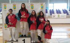 Cuatro medallas para el Sala de Esgrima León en Zaratán