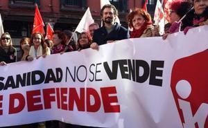 IU insta a la población a participar en la manifestación por la defensa de la Sanidad del 26 de enero en Valladolid