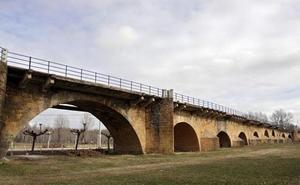 Las obras del puente sobre el río Porma desviará el tráfico de la N-601 a la A-60 en Puente Villarente