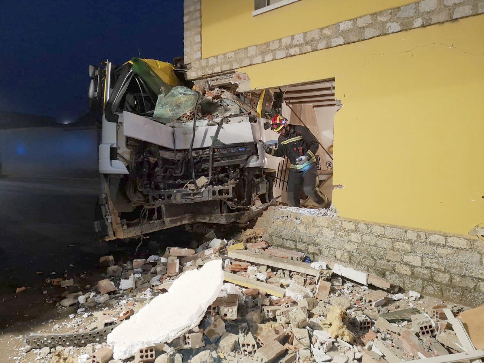 Espectacular accidente en León