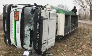 León registra en apenas seis horas 16 accidentes con cuatro heridos, diez de ellos por hielo