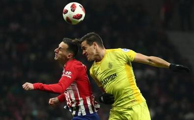 El Girona se viste de Atlético para hacer historia